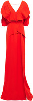 Thumbnail for your product : Roland Mouret Draped Crepe Gown