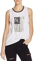 Nation Ltd. Crescent Heights Flag Graphic Tank