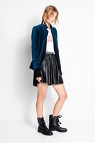 Zadig & Voltaire Volly Velours Blazer
