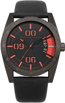 French Connection Men's FC1169BB Parkside Multifunction 3 Hands Dial Watch