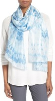 Eileen Fisher Women's Silk Shibori Scarf