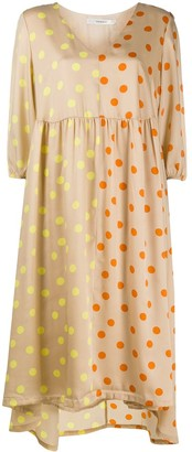 Gestuz Evelina polka-dot print midi dress