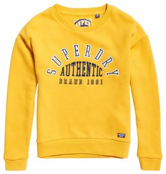 Superdry Women's Urban Street Applique Crew Sweater