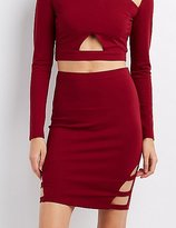 Charlotte Russe Caged Pencil Skirt