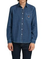 Kenzo Blue Jeans Shirt
