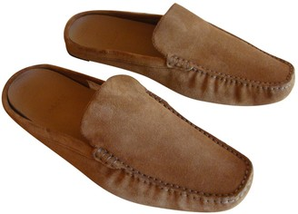Bally Brown Suede Flats