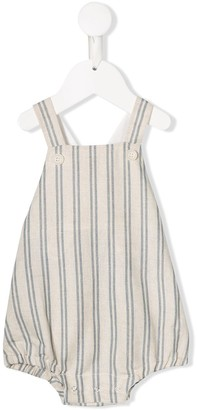 Aletta Striped Dungarees