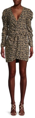 Bardot Tracey Twist Mini Dress