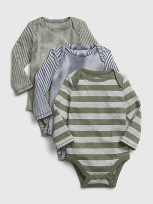 Gap Baby Stripe Bodysuit (3-Pack)