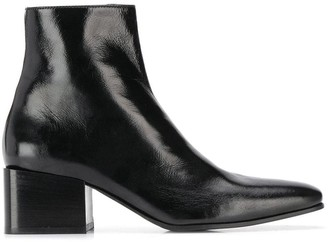 Acne Studios patent ankle boots