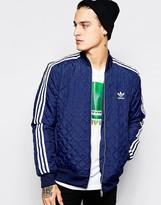 Adidas Originals Quilted Jacket Ab7860 - Blue
