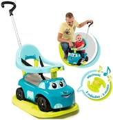 Smoby 4-in-1 Auto Bascule Ride On Car - Blue
