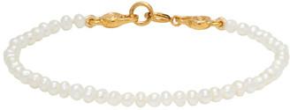 MONDO MONDO White Petite Pearl Bracelet