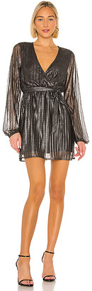 Sanctuary It's Party Time Faux Wrap Dress