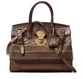 Ralph Lauren Medium Serape Ricky Bag