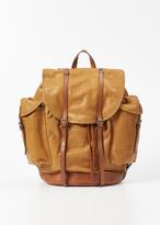 Dries Van Noten Cognac Backpack