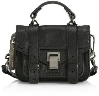 Proenza Schouler Micro PS1 Leather Satchel