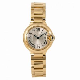 Cartier Ballon bleu Silver Yellow gold Watches