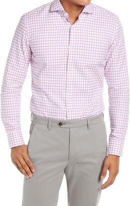 HUGO BOSS Jason Slim Fit Check Dress Shirt
