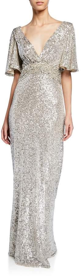 69e81ce0e6f Rickie Freeman For Teri Jon Gold Evening Dresses - ShopStyle
