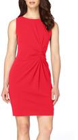 Tahari Ruched Sheath Dress (Petite)