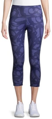 "Layer 8 Women's Active Printed 22"" Capris"