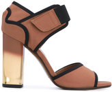 Marni technical fabric sandals - women - Leather/Polyester - 35