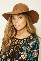 Forever 21 Studded Floppy Wool Hat