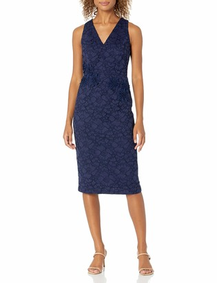 Maggy London Women's Rose Garden Lace Cocktail Sheath