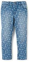 Nevada Girls Allover Star Print Denim Jeans