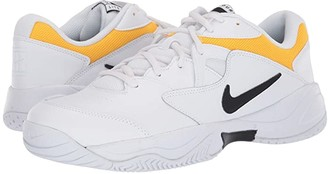 Nike Court Lite 2 (White/Black/White/University Gold) Men's Tennis Shoes