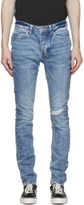 Ksubi Blue Van Winkle Vibez Trashed Jeans