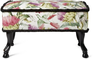 Gucci Thistles and Birds stool