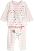First Impressions 2-Pc. Bunny T-Shirt & Pants Set, Baby Girls (0-24 months), Only at Macy's