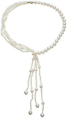 BELPEARL 14K 2.-9Mm Freshwater Pearl Necklace