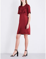 Area Babette silk-satin dress