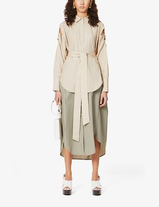Frenken Blaster cotton-poplin midi dress