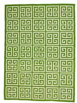 Jonathan Adler Greek Key Llama Flat Weave Rug