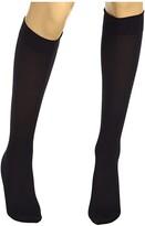 Wolford Velvet De Luxe 50 Knee-Highs (Admiral) Women's Knee High Socks Shoes