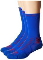 Thorlos Experia U.S.A Crew 3-Pair Pack Crew Cut Socks Shoes