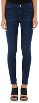 Frame Women's Le High Skinny Jeans-NAVY