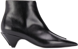 Stella McCartney Pointed Toe Ankle Boots