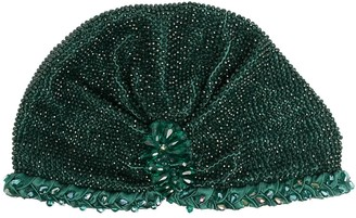 MaryJane Claverol Guyana beaded turban hat
