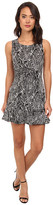 Brigitte Bailey Sleeveless Dress w/ Ruffled Bottom