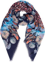 Temperley London Spiral Printed Scarf