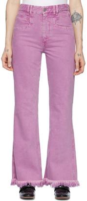 Isabel Marant Pink Elvira Jeans