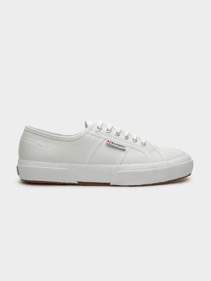 Superga Unisex 2750 Cotu Classic Sneakers in White Leather