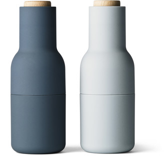 Menu Blues Bottle Grinders (Set of 2) - Blue