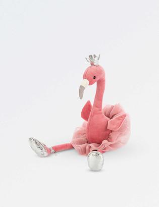 Jellycat Fancy Flamingo soft toy 34cm