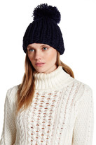 Collection XIIX Oversized Pompom Knit Beanie